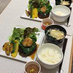 今日の食卓〜和風ハンバーグ定食〜
