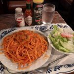 さぼうる2@神保町でランチ★ナポリタンと名物イチゴジュース