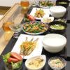 今日の食卓~ししゃも南蛮と「おだしがしみたきざみあげ」サラダ~