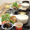今日の食卓~ひじきと鶏のうまいうまい焼き~
