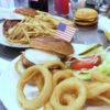 人気のハンバーガー店SUNNY DINER@北千住★絶品ビーフパティの肉汁を吸ったフワフワバンズが!!