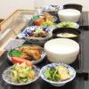 今日の食卓~麻婆茄子&春巻きで中華定食~