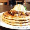 焼きリンゴ&塩キャラメルパンケーキ@バターミルクチャネル原宿